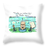 Halftime Show Throw Pillow