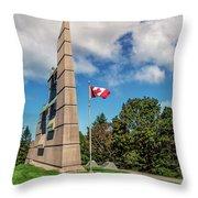 Halifax Explosion Memorial Bell Tower Throw Pillow