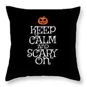 Halloween Costume Funny Apparel Throw Pillow