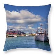 Hall's Harbour 02 Throw Pillow