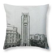 Hamedieh Clock Tower - Beirut Throw Pillow