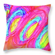 Happy Genes Throw Pillow