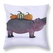 Pumpotomas Throw Pillow