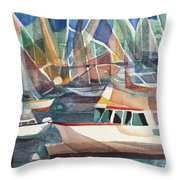 Harbor Island Throw Pillow