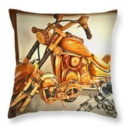 Harley Fund Throw Pillow