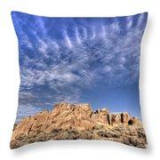 Hartman Rocks Throw Pillow