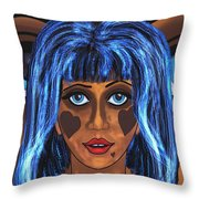 Haunted 4 Throw Pillow