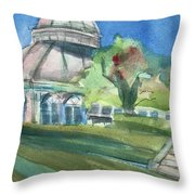 Haupt Conservatory At Nybg Throw Pillow