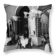 Havana Cafe, C1904 Throw Pillow