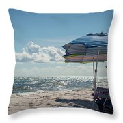 Have A Seat Friend Throw Pillow