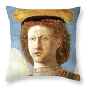 Head Of St. Michael Throw Pillow