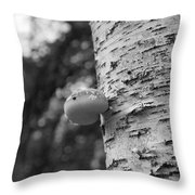 Heart On A Tree Throw Pillow