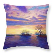 Hearts And Voices Throw Pillow
