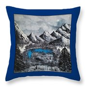 Heaven On Earth Number Four Throw Pillow