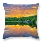 Heavenly Reflections In The Hill Country Throw Pillow