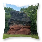 Hemlock Stone Throw Pillow