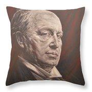 Henry James Throw Pillow