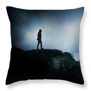 Hero. Throw Pillow