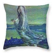 Hesperus The Evening Star 1870 Throw Pillow