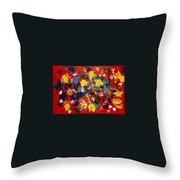 Hidden Creatures Throw Pillow