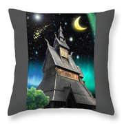 Hierophant Throw Pillow