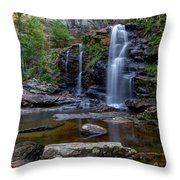 High Falls Majesty Throw Pillow