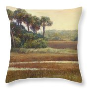 Highway Marco Throw Pillow