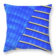 Hilton Blues Throw Pillow