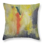 Hint And Whisper Of Degas In My Melbourne Throw Pillow