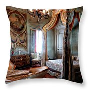 Historic Bedroom Throw Pillow