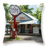 Historic Oark General Store Throw Pillow