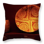 Hohokam Pottery At Pueblo Grande Throw Pillow