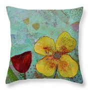 Holland Tulip Festival Iv Throw Pillow