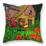 Home And Garden Throw Pillow