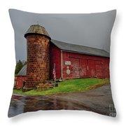 Honey Run Farm Throw Pillow by Mark Miller