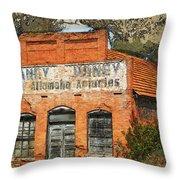 Honey Store  Throw Pillow