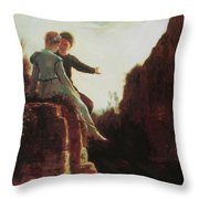 Honeymoon Throw Pillow