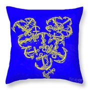 Hook Line And Sinker Throw Pillow