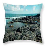 Hookipa Song Of The Sea Throw Pillow