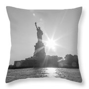Hopeful We The People Throw Pillow