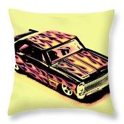 Hot Wheels Throw Pillow