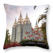 House Of The Lord Throw Pillow
