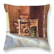 Hovander Park Old Barn, Wa Throw Pillow