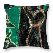 How The Camel Got His Hump Digital And Drawings 14ed3 Throw Pillow