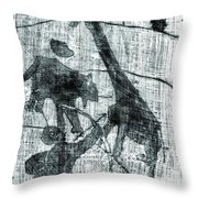 How The Leopard Got His Spots D14ed2 Throw Pillow