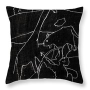 How The Leopard Got His Spots Dr14ed4 Throw Pillow