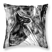 How The Leopard Got His Spots Dr6ed3 Throw Pillow