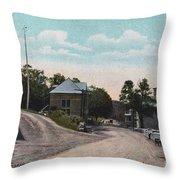 Howard Blvd. Mount Arlington Throw Pillow by Mark Miller