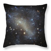 Hubbles Frenzy Of Stars Throw Pillow
