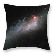 Hubbles Hockey Stick Galaxy Throw Pillow